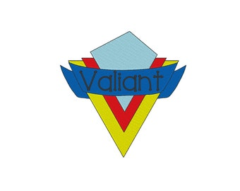 Valiant Primary Embroidery Design