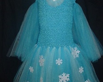 NEW Elsa inspured/color Turquoise