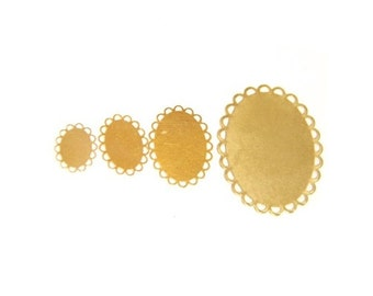 brass filigree lace edge stampler-1570-10x14/13x18/18x25/30x40mm-raw brass