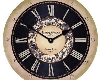 Toile Wall Clock