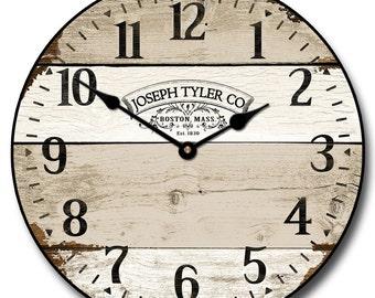 Vintage Barnwood Wall Clock