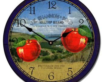 Washington Apple Wall Clock