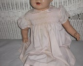 "Nice Old 'Bubbles' Type Mama Doll 27"" Tall Composition"
