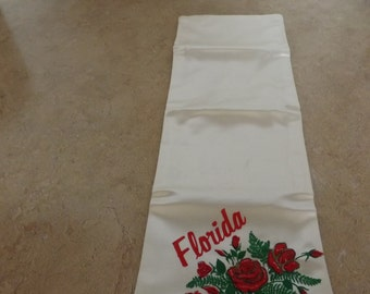 Florida Silky Travel Pouch