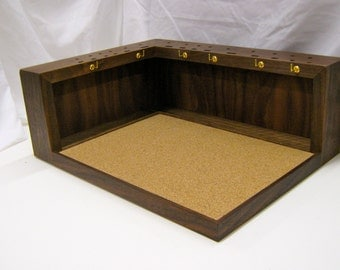 The Wooden Fly Fly Tying Bench In American Black Walnut Or Cherry