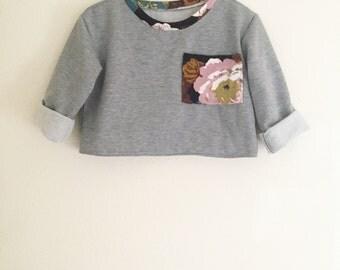 Cozy oversized 90s sweater/Girls sweater