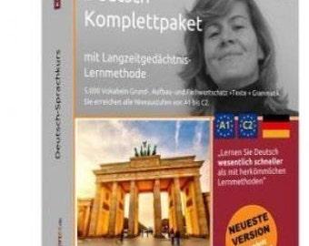 Deutsch lernen A1-C2- Sprachkurs - CDROM+DVD+CD + MP3-AudioCD.Multimedia.