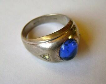 vintage uncas sterling ring, size 9.5