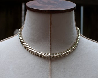 Pompeia //  Vintage Collar Necklace // Vintage Necklace