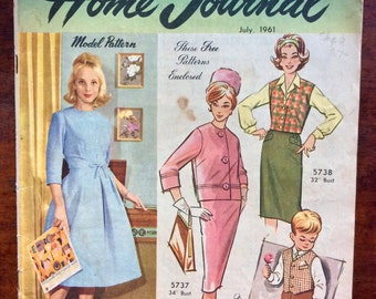 Australian Home Journal Magazine - July 1961 Issue