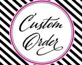 Custom for Lita - RUSH order upgrades, shipping - Additional Custom Colors (2) - Matching Return Address & Individual Guest Address Printing