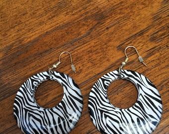 Tiger stripe 80's hoops