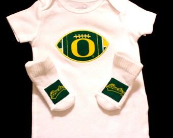 Baby Bodysuit and Socks Set