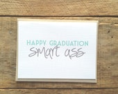 Funny Graduation Card. Happy Graduation.