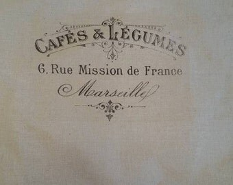 French Cafe bag