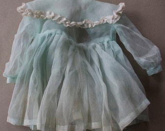 Organza and Lace Doll Dress