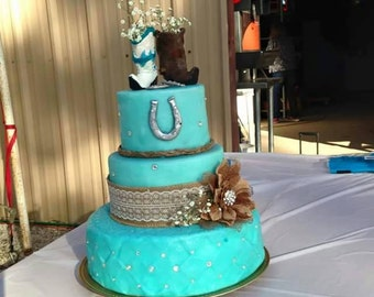 Custom made cake toppers