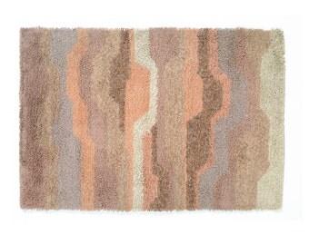 Vintage Danish Rya Shag Rug  Wool EGE  Top Of The Line