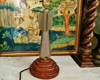 ViNTAGE WWII BLITZ NAVY BoMB TrENCH ArT LaMP, Men's CoLLeCTIBLES, ViNTAGE MiLITARIA, man cave decoration