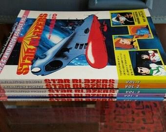 Rare Set of 1983 Star Blazers: Space Cruiser Yamato Graphic Novels Vol. 1 - Vol. 5 Comics