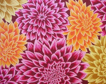 Valori Wells Eclectic Dahlia - OOP - 1 yard cotton quilt fabric