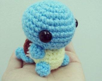Squirtle Amigurumi Octopus : Squirtle plush Etsy