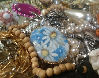 Assortment of Costume Jewelry and Trinkets
