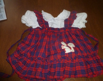 Little Girl's Vintage Dress