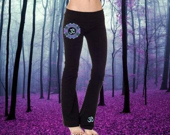 Mandala Om Aum Yoga Pants