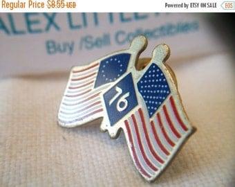 SHOP4FUN American Flag 76 Lapel Pin