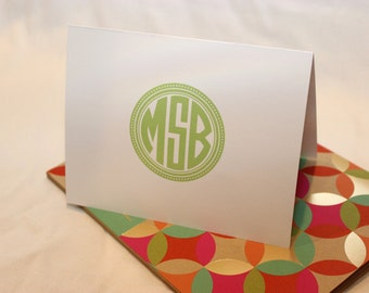 Personalized Note Cards || Monogrammed Cards