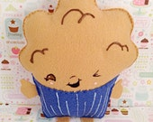 Pastry Pillow, Food Pillow, Muffin, Room Decor, Foodie Accessory, Gift Idea