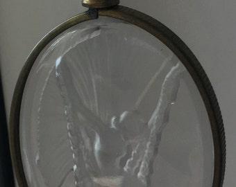 Beautiful Vintage Glass Fairy Pendant