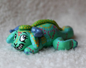 Mint Swampy art sculpture