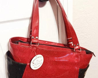 ChaCha bag- red and black