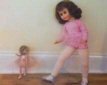 Wall Art, Home Decor, 8x10 Art Print, Vintage Betsy McCall Doll, Dance Studio, Signed Photograph, Baby Girl Print, Mother's Day, Teacher