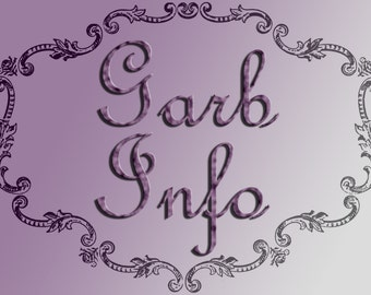 Garb Set - Information