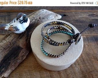 On Sale Leather Wrap Bracelet