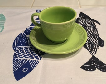 Fiestaware Coffee/Tea Cups  Vintage Colors