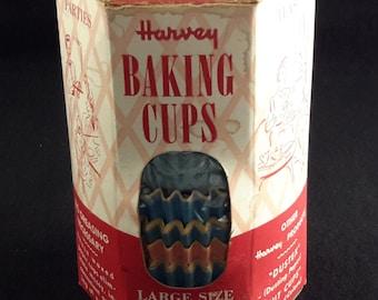 Vintage Paper Cupcake Baking Cups