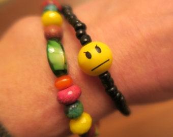Angry Emoji Stretch Bracelet