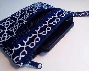 IPhone Wallet Wristlet.Cell Phone wallet wristlet. Errand runner.Samsung galaxy wallet wristlet.