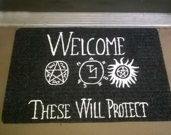 Supernatural Welcome Mat