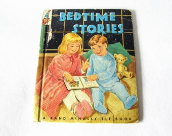 Bedtime Stories Rand McNally Vintage Childrens Book