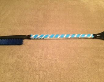 Limited Edition Warrior Hockey Stick Snow Brush