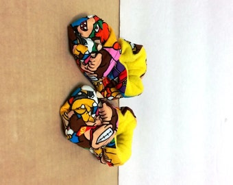 Super Mario Brothers Baby Booties (One Size Fits Most 0 - 18 Months)