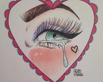 You Make Me Wet Valentine Print