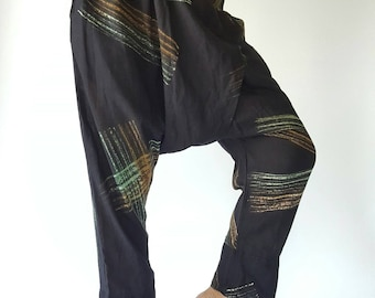 HC0518 Men Fashion Pants, Elastic waist pants Unisex pants