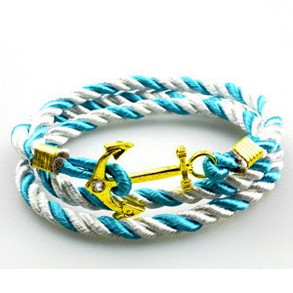 Nautical Hitch Wrap Bracelet