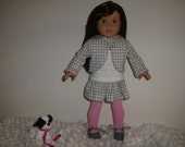 Cute 5 piece Outfit fits most 18 inch dolls